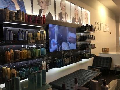 salon digital signage