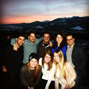 Most of Team Boston (with Scott Gerber) at this year's YEC Escape trip in Utah.