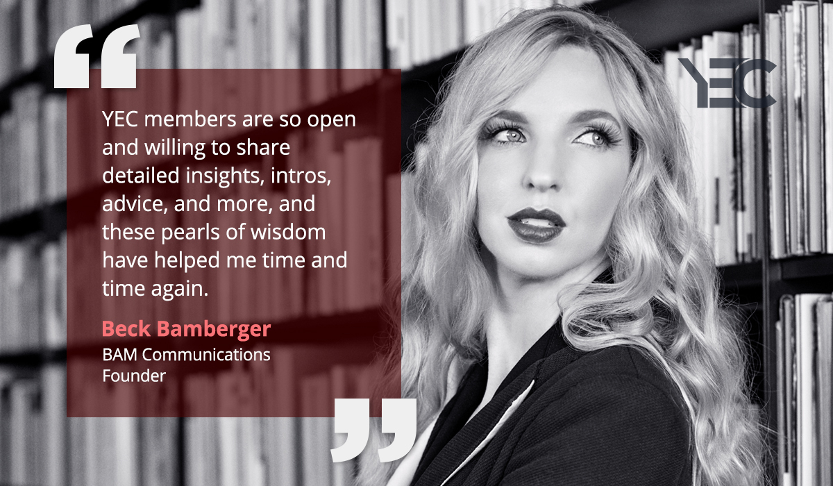 Beck-Bamberger YEC Success Story