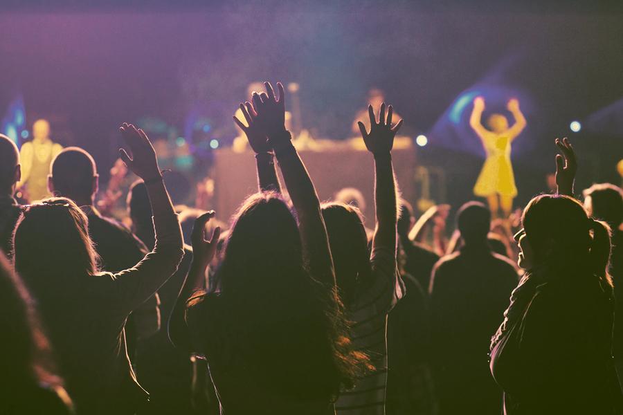 bigstock-Crowd-at-concert-retro-style-90936143